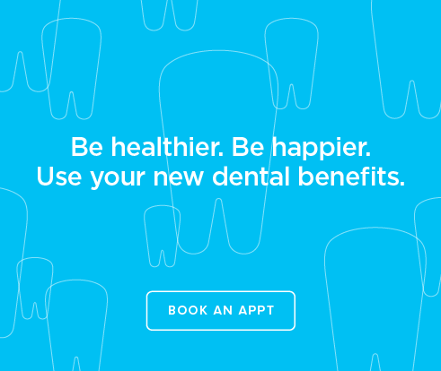 Be Heathier, Be Happier. Use your new dental benefits. - Bristow Fountain Dentistry